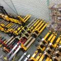 Weeg palletwagen 2000 KG uitlees stap 5 KG