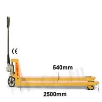 Palletwagen 2000 KG extra Lang 2500mm