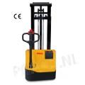 Stapelaar vol elektrisch 1000 KG/ hefhoogte 1530mm